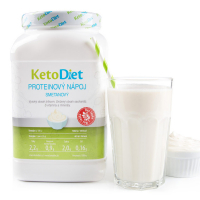 KETODIET Proteínový nápoj smotanový na 35 porcií