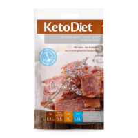 KETODIET Sušené mäso morčacie jerky 3 porcie