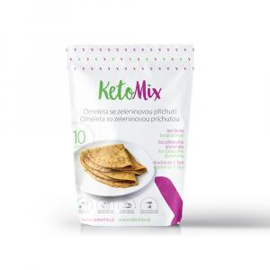 KETOMIX Proteínová omeleta so zeleninovou príchuťou 10 porcií