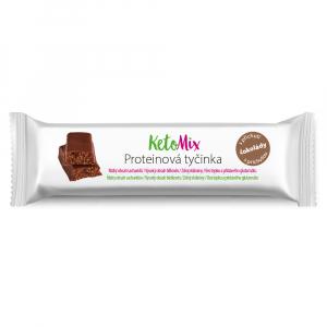 KETOMIX Proteínové tyčinky s príchuťou čokolády 16 ks