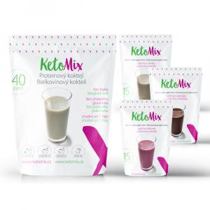 KETOMIX Proteínový koktail 40 porcií
