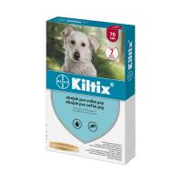 KILTIX Antiparazitárny obojok pre veľkých psov obvod 70 cm 1 ks