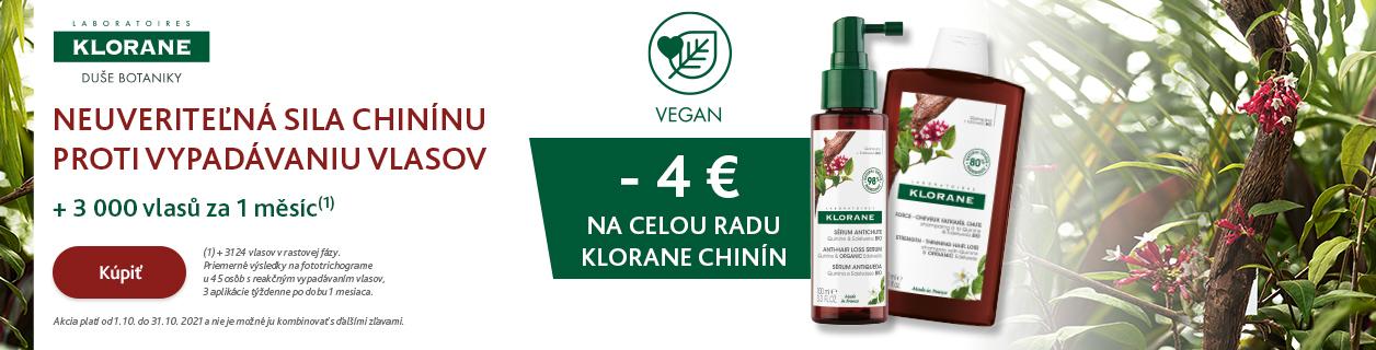 Klorane -4 €