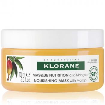 KLORANE Maska na vlasy s mangovým maslom 150 ml