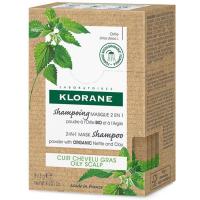 KLORANE Šampón / Maska 2v1 BIO žihľava a íl 8 x 3 g