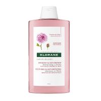 KLORANE Šampón à la Pivoine šampón na citlivú a podráždenú vlasovú pokožku 400 ml