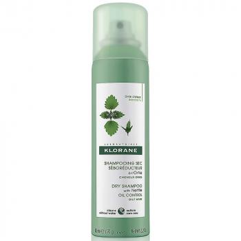 KLORANE Suchý šampón na mastné vlasy 150 ml