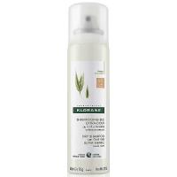 KLORANE Suchý šampón s ovesným mliekom hnedé vlasy 150 ml