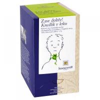 Knedlík v krku - bio bylinný porc.čaj dvojkomorový 27g