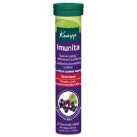 KNEIPP Imunita vitamín C čierna baza 20 šumivých tabliet