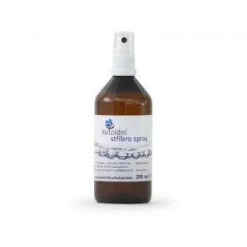 Koloidné striebro sprej 200 ml 20 ppm
