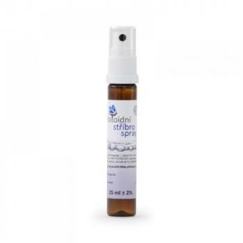 Koloidné striebro sprej 20 ppm 25 ml