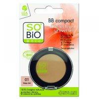 SO'BIO Kompaktný púder 01 béžová svetlá