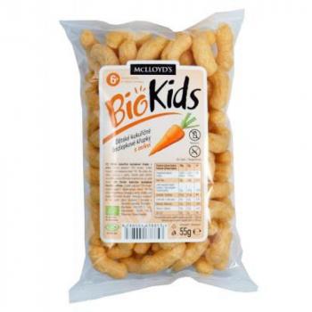 Chrumky kukuričné mrkvové BIO 55 g