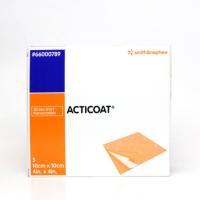Krytí Acticoat - antimikrobiotické s nanokrystalick. stříbrem 10x10 cm/1 ks