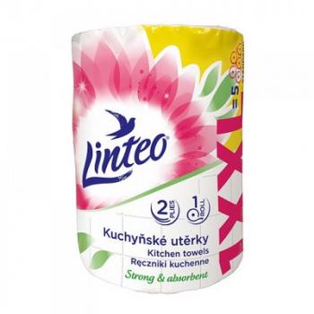 LINTEO Kuchynské utierky XXL 2-vrstvové 1x 50 m