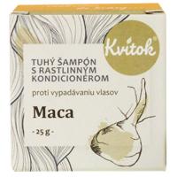 KVITOK Tuhý šampón Maca 25 g