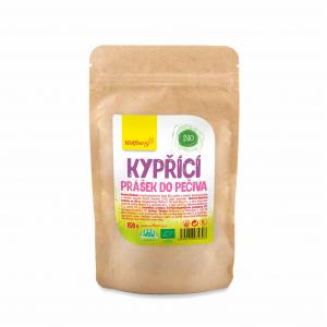 WOLFBERRY Kypriaci prášok do pečiva BIO 150 g