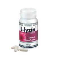 KOMPAVA L-lyzín extra 400 mg 60 kapsúl
