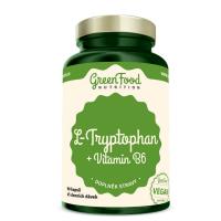 GREENFOOD NUTRITION L-tryptophan + vitamín B6 90 kapsúl