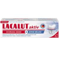 LACALUT Aktiv Zubná pasta Ochrana ďasien & Jemné bielenie 75 ml