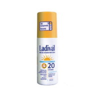 LADIVAL Transparentný sprej SPF 20 na ochranu proti slnku 150 ml