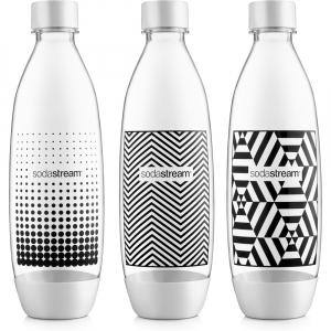 SODASTREAM Fľaška Fuse Black&White TriPack 1 l