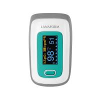 LANAFORM Pulzný prstový oxymeter PO-100 s batériami 1 ks