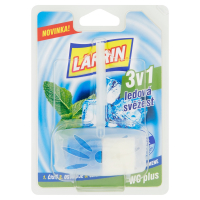Larrin WC PLUS záves 40g Modrý