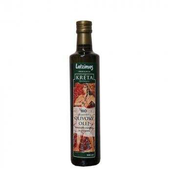 LATZIMAS Panenský olivový olej BIO 500 ml