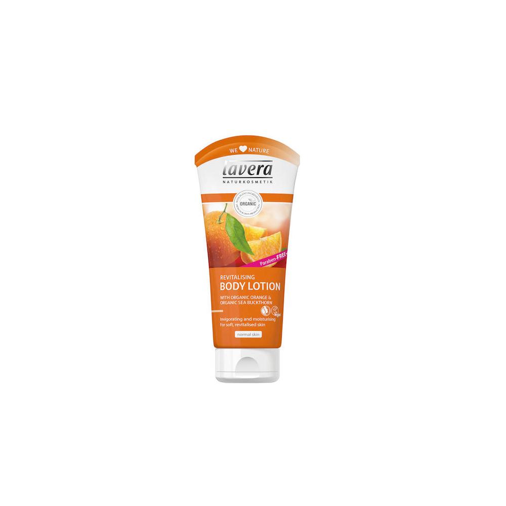 LAVERA Body Spa BIO tělové mléko pomeranč-rakytník 200 ml