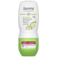 LAVERA Dezodorant roll-on Refresh s vôňou limetky 50 ml