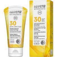 LAVERA Opaľovací krém Sensitiv SPF 30 Anti-Ageing 50 ml