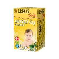 LEROS Baby Detský čaj bylinkový 20x1,8 g