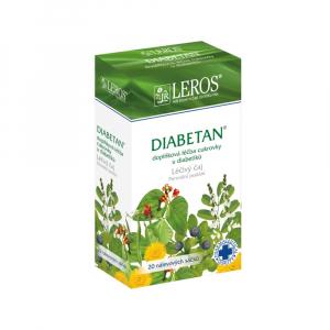 LEROS Diabetan liečivý čaj 20 vrecúšok