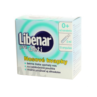LIBENAR pre deti nosové kvapky 15 ampuliek po 5 ml