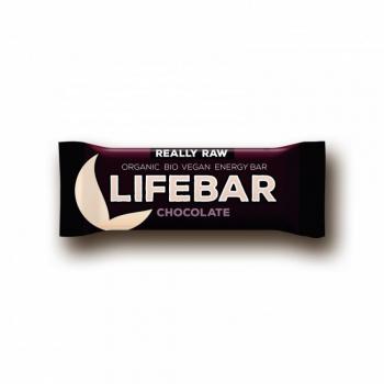 Lifefood Lifebar čokoládová tyčinka BIO 47 g