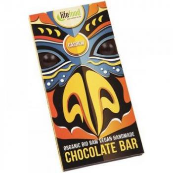 Lifefood čokoláda s kúskami kešu orechy BIO 70 g