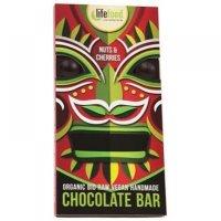 LIFEFOOD čokoláda s kúskami orechov a čerešní BIO 70 g