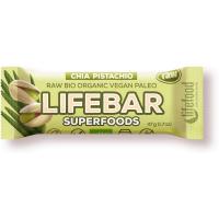 LIFEFOOD Superfoods s chia semienkami a pistáciami 47 g BIO