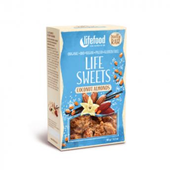 Lifefood Zasnežené mandle BIO 90 g