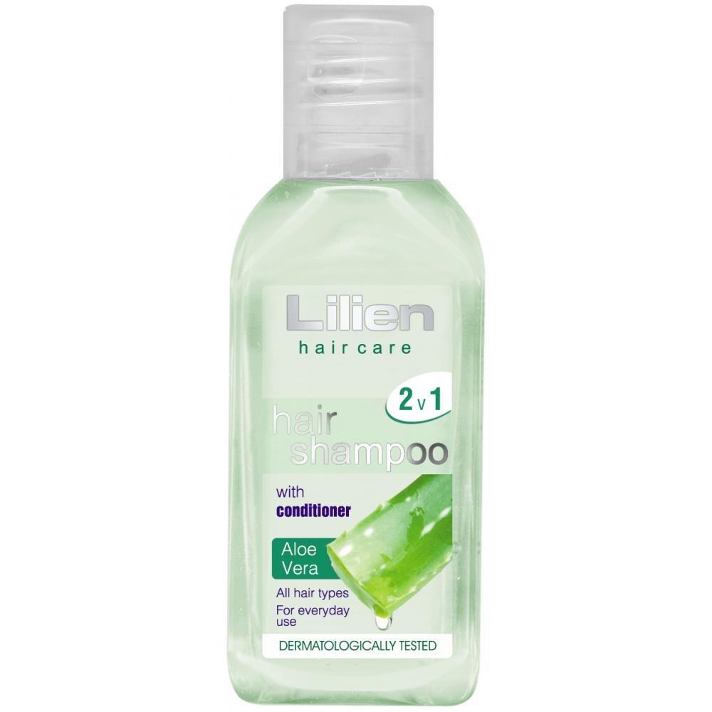 Lilien šampon 2v1 s kondicionérem Aloe Vera 50ml