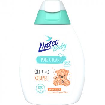 LINTEO Baby Olej po kúpeli s Bio nechtíkom lekárskym 250 ml