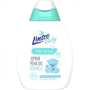 LINTEO Baby Pena do kúpeľa s Bio nechtíkom lekárskym 250 ml