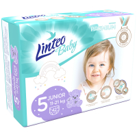 LINTEO Baby Premium Detské plienky Junior 11-21 kg 42 ks