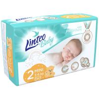 LINTEO Baby Premium Detské plienky MINI 3-6 kg 34 ks