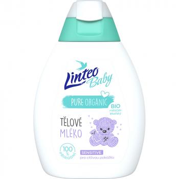 LINTEO Baby Telové mlieko s Bio nechtíkom lekárskym 250 ml