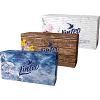 LINTEO Papierové vreckovky 2-vrstvové BOX 150 ks