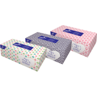LINTEO Papierové vreckovky 2-vrstvové BOX 200 ks