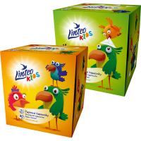 LINTEO Kids Papierové vreckovky 2-vrstvové BOX 80 kusov